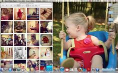 Instragram Photostrip Tutorial by HappyInTheInBetween. How to create your own photostrip from Instragram pictures in Photoshop Elements.