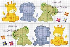 Animali della savana x bebè