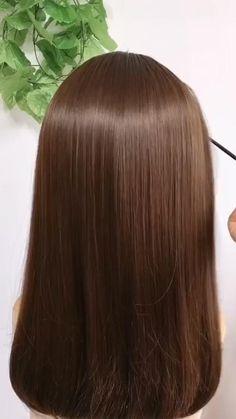 Hairstyles For Medium Length Hair Tutorial, Easy Hairstyles For Thick Hair, Hair Tutorials For Medium Hair, Hairdo For Long Hair, Front Hair Styles, Medium Hair Styles, Hair Style Vedio, Hair Upstyles, Hair Videos