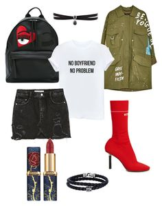 """Без названия #10"" by lidiya-yurtaeva on Polyvore featuring мода, Vetements, Fallon, Chiara Ferragni и Phillip Gavriel"