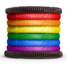Los niños adoran las galletas y nosotros, si son de colores, también :) #arcoiris #rainbow #colores