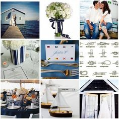 nautical themed wedding.
