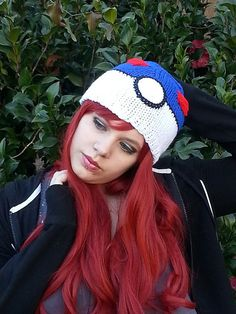 Pokemon Great Ball Hat Made to Order by MystikDesign on Etsy