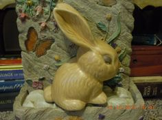 Sylvac vintage collectible rabbit bunny. Large 7 #1026, England 1960s. Perfect condition, brown tan.