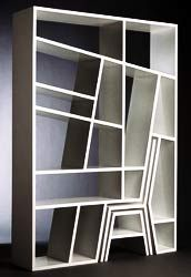 Google Image Result for http://www.roomdecoratingideas.net/wp-content/uploads/2009/03/modern-bookshelves.jpg- could that be a chair and table incorp. into design?