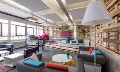 Arbeitsplätze in Coworking Space mitten in München #Büro, #Bürogemeinschaft, #Office, #Coworking, #München, #Munich