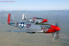 P-51 Mustang Flight of Two.