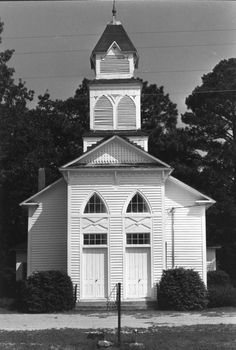 Parker's Grove Methodist Church, Linden, Cumberland County, North Carolina.  Built in 1876.