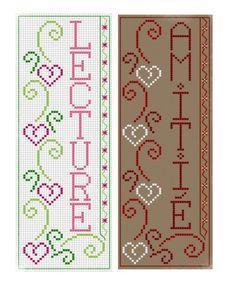 """Marque Page """"lecture"""" - Les grilles de Liselotte"""
