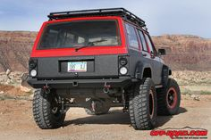 Jeep Cherokee XJ - Check out the tail lights