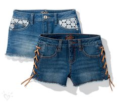 They're more than a pair of denim shorts... they're a summer memory in the making.