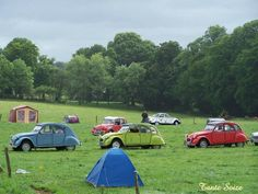 Rencontre des clubs Bretons à Quessoy (22) • Citroen 2CV