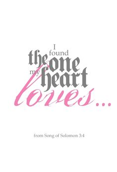 Image of Song of Solomon 3:4
