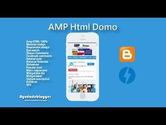 Blogger Template AMP HTML -  Amp Domo