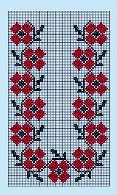Cross Stitch Bookmarks, Cross Stitch Rose, Cross Stitch Embroidery, Hand Embroidery, Needlepoint Patterns, Embroidery Patterns, Loom Patterns, Knitting Patterns, Cross Stitch Designs