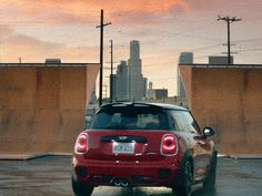 The New MINI John Cooper Works makes an entrance with some fearless friends. John Cooper Works, Transportation, It Works, Things To Come, Humor, Tgif, Minis, Entrance, Pocket