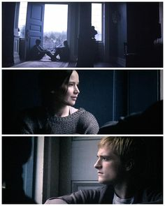Katniss looking at Peeta with all love in her eyes makes me want to cry and laugh and cry and cry at the same time