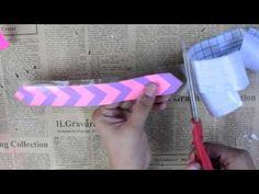 Separador de muñequitas y papel trenzado (muy fácil) - YouTube