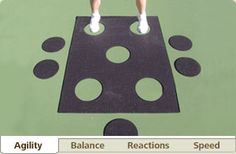 Kid Fitness Equipment - Kid Fitness Tips Drills - videos of exercises for improving balance, agility, reaction and speed.