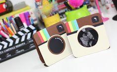 DIY Porta Retrato Instagram