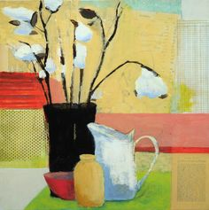 laurie breen--contemporary still-life and abstract paintings & art for children's spaces: still life