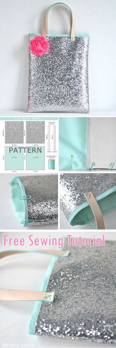 Mini Book Bag Sewing Tutorial. How-to step by step http://www.free-tutorial.net/2017/09/mini-book-bag-sewing-tutorial.html