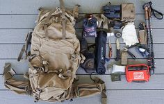 Some would ask what a public land elk hunter has in his day pack for elk hunting Hunting Packs, Big Game Hunting, Hunting Gear, Baby Panda Bears, Baby Pandas, Hunting Backpacks, Mystery Ranch, Recreational Activities, Hunting Equipment