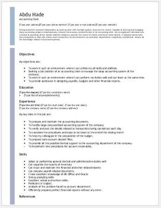 Accounting Clerk Resume Account Payable Clerk Resume Download At Httpwriteresume2