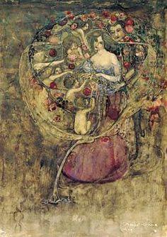 Margaret macdonald mackintosh - gift of doves