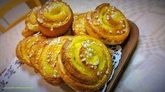 Gluteenitonta leivontaa: Vaniljakierrepullat