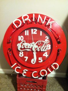 Antique Neon Coca Cola clock - The eBay Community