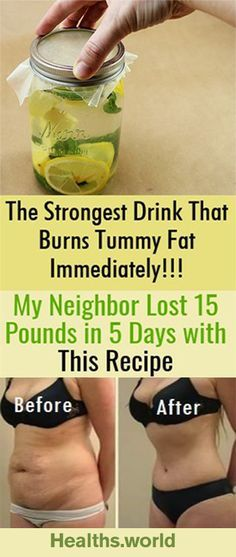 The Strongest Drink That Burns Tummy Fat Immediately! My Neighbor Lost 15 Poun. - The Strongest Drink That Burns Tummy Fat Immediately! My Neighbor Lost 15 Pounds in 5 Days with T - Weight Loss Meals, Weight Loss Drinks, Losing Weight, Drinks To Lose Weight, Weight Loss Smoothies, Weight Loss Tips, Diet Drinks, Healthy Drinks, Detox Cleanse For Weight Loss