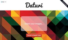 Daturi – Directly embed a background image using CSS