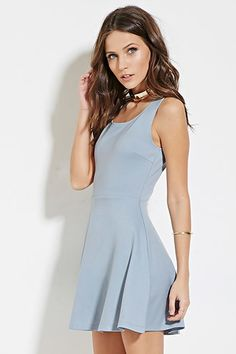 Classic Fit & Flare Dress   Forever 21 - 2000165535