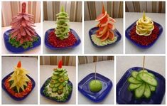 Wonderful Christmas Diy Ideas to Decorate Your Home and Table - Easy Christmas tree appetizers