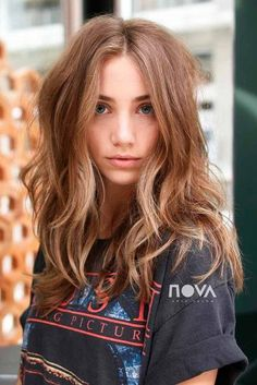 Over 50 best long haircuts for every type of texture Long Hair Cuts Haircuts Long Texture Type Best Long Haircuts, Haircuts For Long Hair, Long Hair Cuts, Women Hair Cuts, Hair Color For Women, Girl Hairstyles, Haircut For Thick Hair, Haircut Long, Light Brown Hair