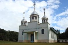 Igreja ucraniana da cidade de Boa Ventura de São Roque