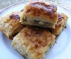 hülyalı lezzetler: Yufkalı Milföylü Etli Börek