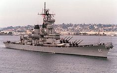 USS New Jersey - the most decorated American battleship. It fought in WW2, Korea, Vietnam, Lebanon and even carried nuclear missiles. This battleship is now a museum in Camden. It is an Iowa class battleship, the most powerful class ever built.