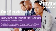 Interview Skills Training for Managers