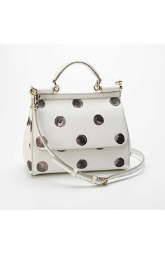 a08d0652655a Dolce amp Gabbana  Miss Sicily  Polka Dot Satchel available at  Nordstrom  Dolce And