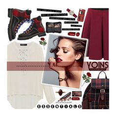 """Yoins (2/3) ♥"" by av-anul ❤ liked on Polyvore featuring Dsquared2, Sigma, Huda Beauty, Chiara Ferragni and Chan Luu"