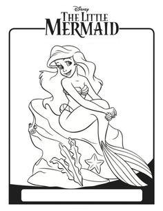 ariel little mermaid coloring sheet disney pinterest ariel mermaid and disney printables