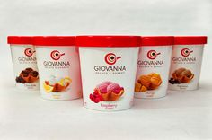 Giovanna Gelato e Sorbet on Packaging of the World - Creative Package Design Gallery