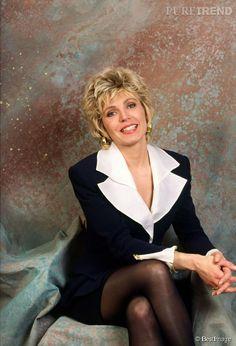 Évelyne Dhéliat dans les années 1990