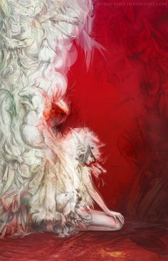 White Foxes by ~Kuroi-kisin on deviantART