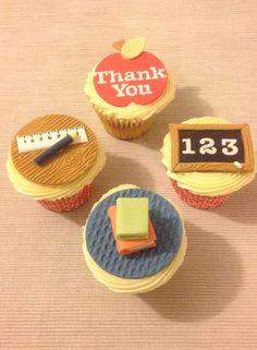 Teacher's Thank You Cupcakes