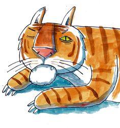 Animal illustration - Alex Latimer