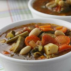 Dads Famous Minestrone Recipes
