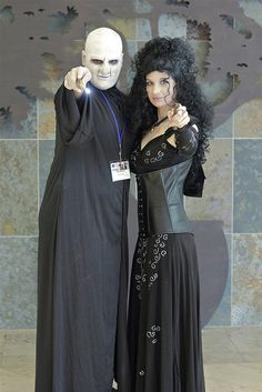 Voldemort and Bellatrix, Anime Boston 2012